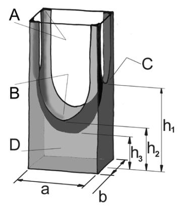 rectangulat capillary mine small