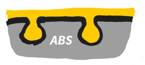 ABS electr plated
